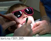 Купить «Ребенок у зубного врача», фото № 501385, снято 9 октября 2008 г. (c) Tamara Sushko / Фотобанк Лори