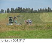 Купить «Сбор урожая», фото № 501917, снято 15 августа 2008 г. (c) Иван / Фотобанк Лори