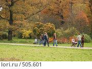 Купить «Осенний пейзаж в Ботаническом саду. Москва», фото № 505601, снято 5 октября 2008 г. (c) Сергей Панасюк / Фотобанк Лори