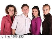 Купить «Друзья», фото № 506253, снято 19 марта 2019 г. (c) Losevsky Pavel / Фотобанк Лори