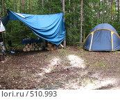 Купить «Палаточный лагерь», фото № 510993, снято 7 сентября 2008 г. (c) Кирилл Трифонов / Фотобанк Лори