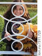 Купить «Осеннее настроение», фото № 511729, снято 9 октября 2008 г. (c) Сергей Халадад / Фотобанк Лори