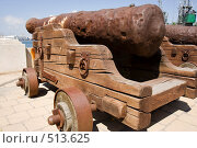 Купить «Флотская пушка», фото № 513625, снято 19 июля 2008 г. (c) Николай Винокуров / Фотобанк Лори