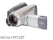 Купить «Цифровая видеокамера», фото № 517237, снято 8 декабря 2018 г. (c) Losevsky Pavel / Фотобанк Лори