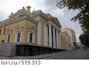Купить «Московская хоральная синагога в Большом Спасоглинищевском переулке», фото № 519313, снято 29 июля 2008 г. (c) Pukhov K / Фотобанк Лори