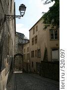 Купить «Одна из улочек Люксембурга», фото № 520097, снято 29 августа 2008 г. (c) Эльвира Максимова / Фотобанк Лори