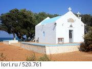 Купить «Церковь в Като- Гувес, о.Крит», эксклюзивное фото № 520761, снято 3 августа 2008 г. (c) Яна Королёва / Фотобанк Лори
