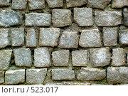 Каменная стена. Стоковое фото, фотограф Александр Тимофеев / Фотобанк Лори