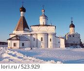 Ферапонтов монастырь зимой, фото № 523929, снято 16 февраля 2008 г. (c) Александр Максимов / Фотобанк Лори