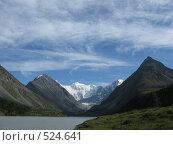 Горное озеро (2008 год). Редакционное фото, фотограф Елена Чердынцева / Фотобанк Лори
