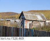 Дом в деревне. Стоковое фото, фотограф Айгуль / Фотобанк Лори