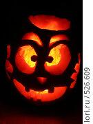 Купить «Тыква на хэллоуин», фото № 526609, снято 29 октября 2006 г. (c) Cangaroo / Фотобанк Лори