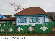 Домик в деревне. Стоковое фото, фотограф Павел Спирин / Фотобанк Лори