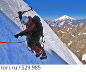 Купить «Альпинист», фото № 529985, снято 3 апреля 2006 г. (c) Елена Чердынцева / Фотобанк Лори