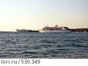 Купить «Выход в море», фото № 530349, снято 31 июля 2008 г. (c) Максим Купрацевич / Фотобанк Лори