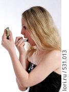 Купить «Чёрная помада», фото № 531013, снято 17 мая 2008 г. (c) Варвара Воронова / Фотобанк Лори