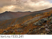 Грозовой перевал. Стоковое фото, фотограф Сергей Ляшко / Фотобанк Лори