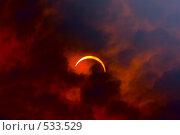 Солнечное затмение 2008 года. Стоковое фото, фотограф Игорь Дорошенко / Фотобанк Лори