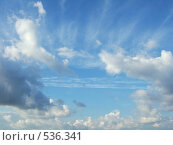 Синее небо. Стоковое фото, фотограф Александр Шаталов / Фотобанк Лори