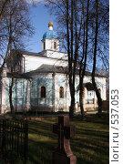 Купить «Оптина пустынь. Владимирская церковь», фото № 537053, снято 28 октября 2006 г. (c) Igor Lijashkov / Фотобанк Лори