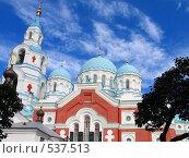 Купить «Купола Валаамского мужского монастыря», фото № 537513, снято 18 августа 2007 г. (c) Ярослава Синицына / Фотобанк Лори