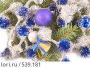 Елочные шары. Стоковое фото, фотограф Коннов Леонид Петрович / Фотобанк Лори
