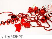 Купить «Новогодние украшения», фото № 539401, снято 29 октября 2008 г. (c) Логинова Елена / Фотобанк Лори