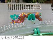 """Купить «Фрагмент фонтана """"Рог изобилия""""», фото № 540233, снято 22 июля 2005 г. (c) Иван Сазыкин / Фотобанк Лори"""