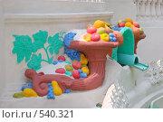 """Купить «Фрагмент фонтана """"Рог изобилия""""», фото № 540321, снято 22 июля 2005 г. (c) Иван Сазыкин / Фотобанк Лори"""