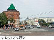 Нижний Новгород, площадь Минина и Пожарского (2008 год). Редакционное фото, фотограф Алексей Котлов / Фотобанк Лори