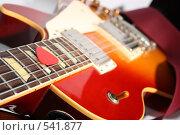 Купить «Гитара крупным планом», фото № 541877, снято 3 ноября 2008 г. (c) Романенко Юлия Игоревна / Фотобанк Лори