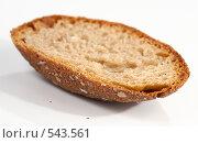Горбушка хлеба. Стоковое фото, фотограф Юрий Брыкайло / Фотобанк Лори