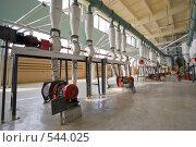 Купить «Мукомольный комбинат. Воздуходувки, насосы, питатели.», фото № 544025, снято 28 сентября 2005 г. (c) Иван Сазыкин / Фотобанк Лори