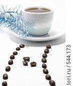 Купить «Кофейный проспект новогодний», фото № 544173, снято 4 ноября 2008 г. (c) Кузнецов Дмитрий / Фотобанк Лори