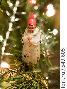 Купить «Старая елочная игрушка, 50 годы 20 века», фото № 549605, снято 5 января 2006 г. (c) Кравецкий Геннадий / Фотобанк Лори