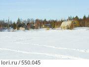 Купить «Дачный поселок зимой», фото № 550045, снято 22 марта 2008 г. (c) Ольга Красавина / Фотобанк Лори