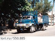 Купить «Грузовик на Кубе», эксклюзивное фото № 550885, снято 26 мая 2020 г. (c) Free Wind / Фотобанк Лори