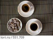 Кофейные чашки. Стоковое фото, фотограф Тарас Теницкий / Фотобанк Лори