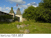 Купить «Борисоглебский монастырь. Конвергенция», фото № 551857, снято 18 июля 2006 г. (c) Сергей Разживин / Фотобанк Лори