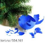 Купить «Разбитый шар», фото № 554161, снято 19 октября 2007 г. (c) Наталия Евмененко / Фотобанк Лори