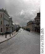 Улица Кремлёвская (2007 год). Стоковое фото, фотограф Алексеева Галина / Фотобанк Лори