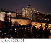 Вечерний Липецк (2008 год). Стоковое фото, фотограф Иван Маршинин / Фотобанк Лори