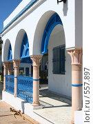 Купить «Веранда,Тунис», фото № 557897, снято 26 августа 2008 г. (c) Руслан Керимов / Фотобанк Лори
