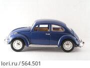 Купить «Volkswagen Beetle 1967», фото № 564501, снято 16 ноября 2008 г. (c) Vadim Tatarnitsev / Фотобанк Лори