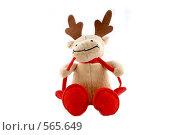 Купить «Веселый Рождественский Лось», фото № 565649, снято 16 ноября 2008 г. (c) Юрий Беляков / Фотобанк Лори