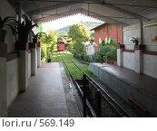 Фуникулер в Италии, Тоскана (2008 год). Стоковое фото, фотограф Anna Marklund / Фотобанк Лори