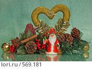 Новый год. Стоковое фото, фотограф Елена Элевтерова / Фотобанк Лори