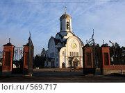 Купить «Опалиха, Церковь Елисаветы Феодоровны», эксклюзивное фото № 569717, снято 3 ноября 2008 г. (c) Яна Королёва / Фотобанк Лори