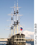 Купить «Корабль», фото № 569869, снято 26 августа 2007 г. (c) Туркин Вадим / Фотобанк Лори