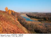 Осенний пруд. Стоковое фото, фотограф Виктор Уткин / Фотобанк Лори